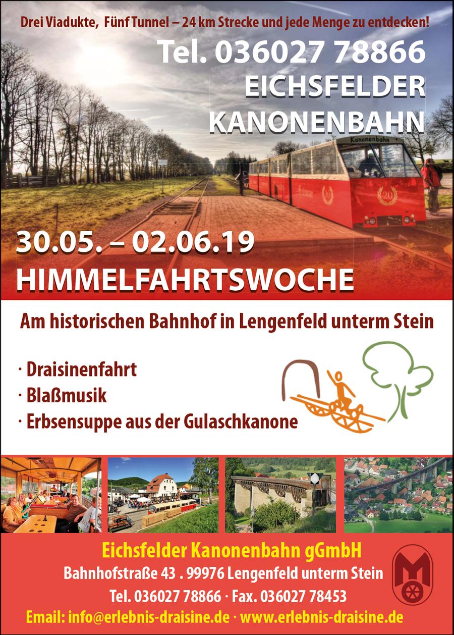 Eichsfelder-Kanonenbahn-Himmelfahrt