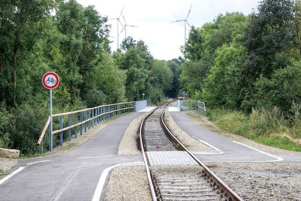 Gießebrücke am Kanonenbahn Radweg