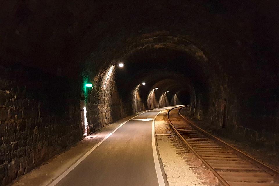 Küllstedter Tunnel am Kanonenbahn Radweg