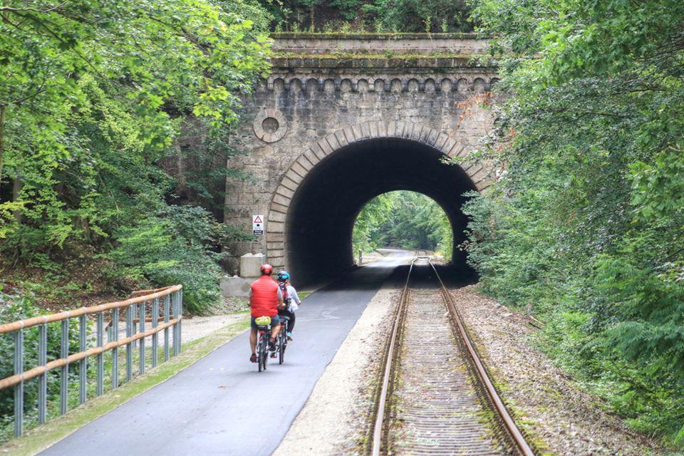 Der Kanonenbahn-Radweg Im Grünen Herzen Deutschlands